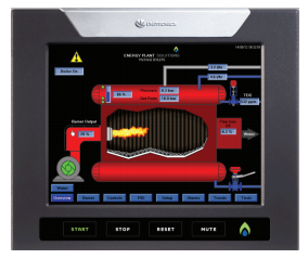 Unitronics - Success Story for an Energy Plant Using PLC+HMI
